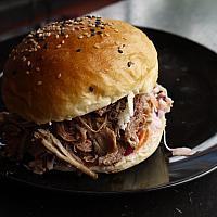 Large Classic BBQ Shredded Chicken Sandwich