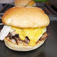 Regular Cheesy BBQ Pulled Pork Sandwich