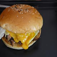 Large Cheesy BBQ Pulled Pork Sandwich