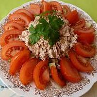 Tuna and fresh tomato