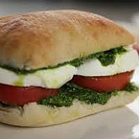 ciabatta tomato mozzarella