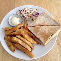 Chicken & Cheese Sandwich