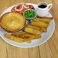 Mince & Onion Pie