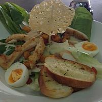The unforgettable Caesar salad