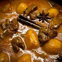 Massaman Curry - chicken or pork.