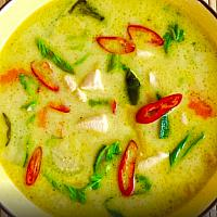 Green Curry with Duck