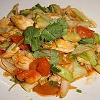 Sweet and Sour Phad Priew Waan Gai (chicken, pork or beef)