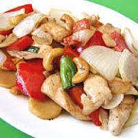 Stir Fried Cashewnuts chicken, pork or beef