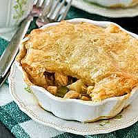 Special Ja chicken Curry pie