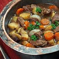 Traditional Irish Stew Homemade