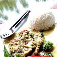 Soft Shell Crab Green Curry