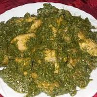 Chicken Palak (Saag)