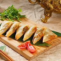 Harumaki with seafood