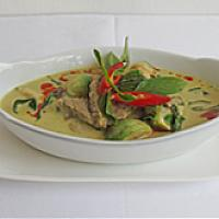 Green curry Beef or Shrimp