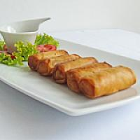Thai spring rolls with vegetable