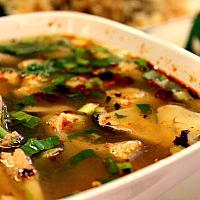 tom Sab spicy soup with spare rib
