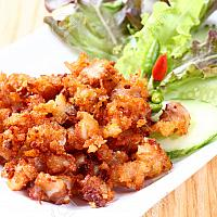 Deep fried Chicken tendon