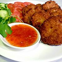 Deep fried Prawn cakes