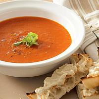 Tomato & smoked Cspsicum soup