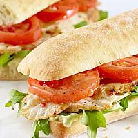 CHICKEN SALAD & TOMATO PANINI