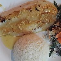 Fish Fillet with Garlic butter