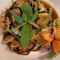 Pad Ka Pao Kai ( Fried Chicken with Basil leaf & Chili