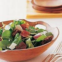 Ceasar Salad with dry Bresaola