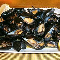 Mussel in marinara sauce
