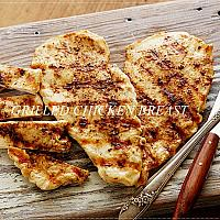 Grilled Chicken breast with French fries