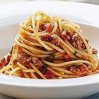 Spaghetti Bologna beef