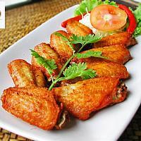 fried chicken wing /  ปีกไก่ทอด