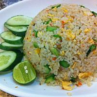 fried rice with egg/  ข้าวผัดไข่