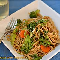 Noodles or Dumplings with Vegetable