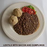 Lentils with Dumplings