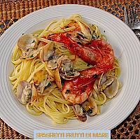 Spaghett ifrutti di mare
