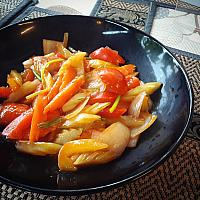 Sweet & sour vegetables mix