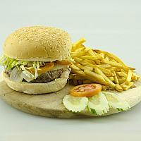 Deluxe Luxury Beef Burger