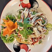Mango Salad with chicken ยำมะม่วงใส่ไก่