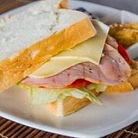 Ham, Cheese, Tomato & Lettuce