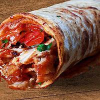 Beef Kebab in Wrap XL (Shawarma)