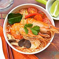 TOM YUM NOODLE (CHICKEN/ PRAWN)