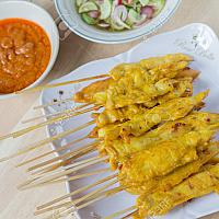 CHICKEN/ PORK SATAY