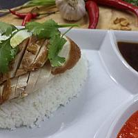 Chicken on rice