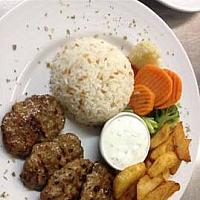 Barbequed Turkish meatballs