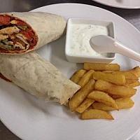 Durum Wrapped kebab