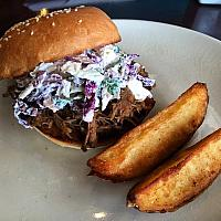 Panang Pulled Pork Burger