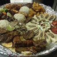 Mixed Kebab's For 4 Persons.
