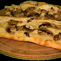 Mushroom Pide