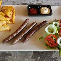 merguez french fries