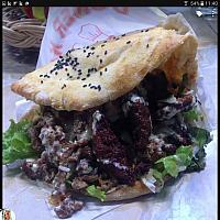 Beef Kebab in Pita Bread XL (Döner)